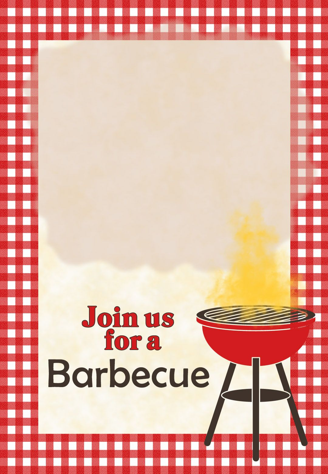 A Barbecue Free Printable Party Invitation Template Greetings throughout sizing 1080 X 1560