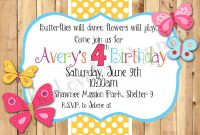 Birthday Invitations Template Free Printable Kids Birthday In 2018 with size 1500 X 1071