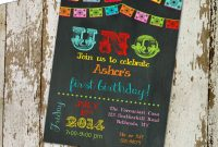 Fiesta 1st Birthday Invitation Papel Picado Party Invitation Uno pertaining to proportions 1500 X 1500