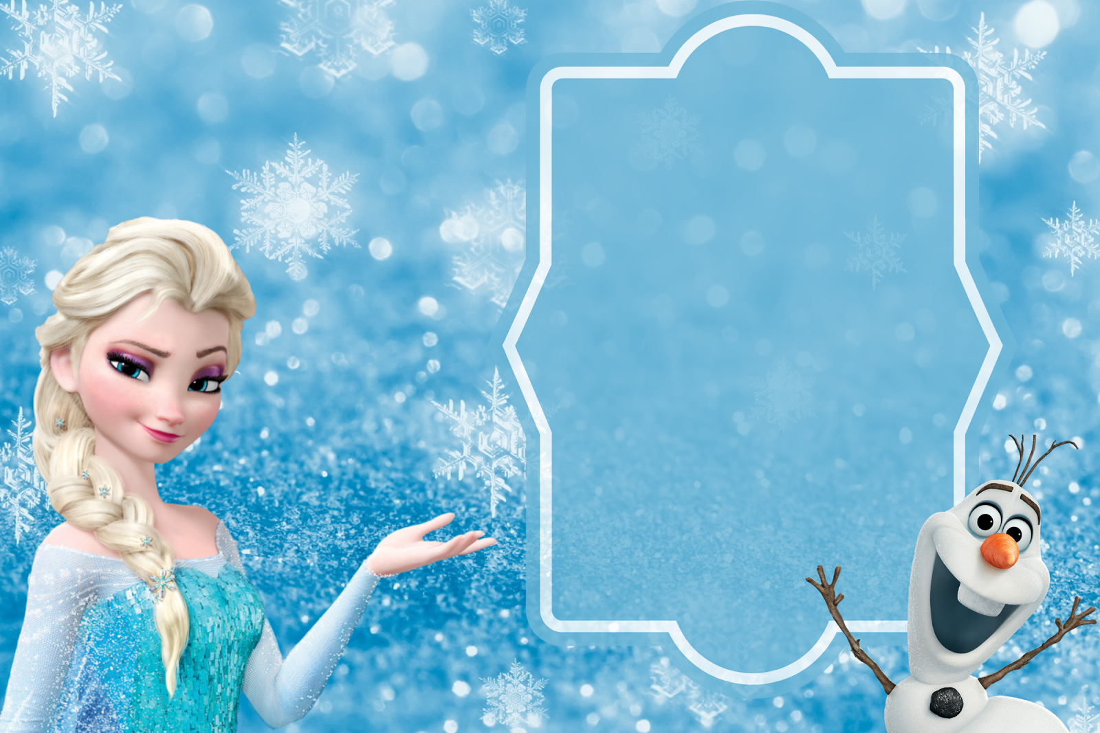 Free Frozen Party Invitation Template Download Party Ideas And with sizing 1600 X 1067