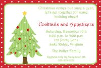 Free Invitations Templates Free Free Christmas Invitation intended for dimensions 1500 X 1071