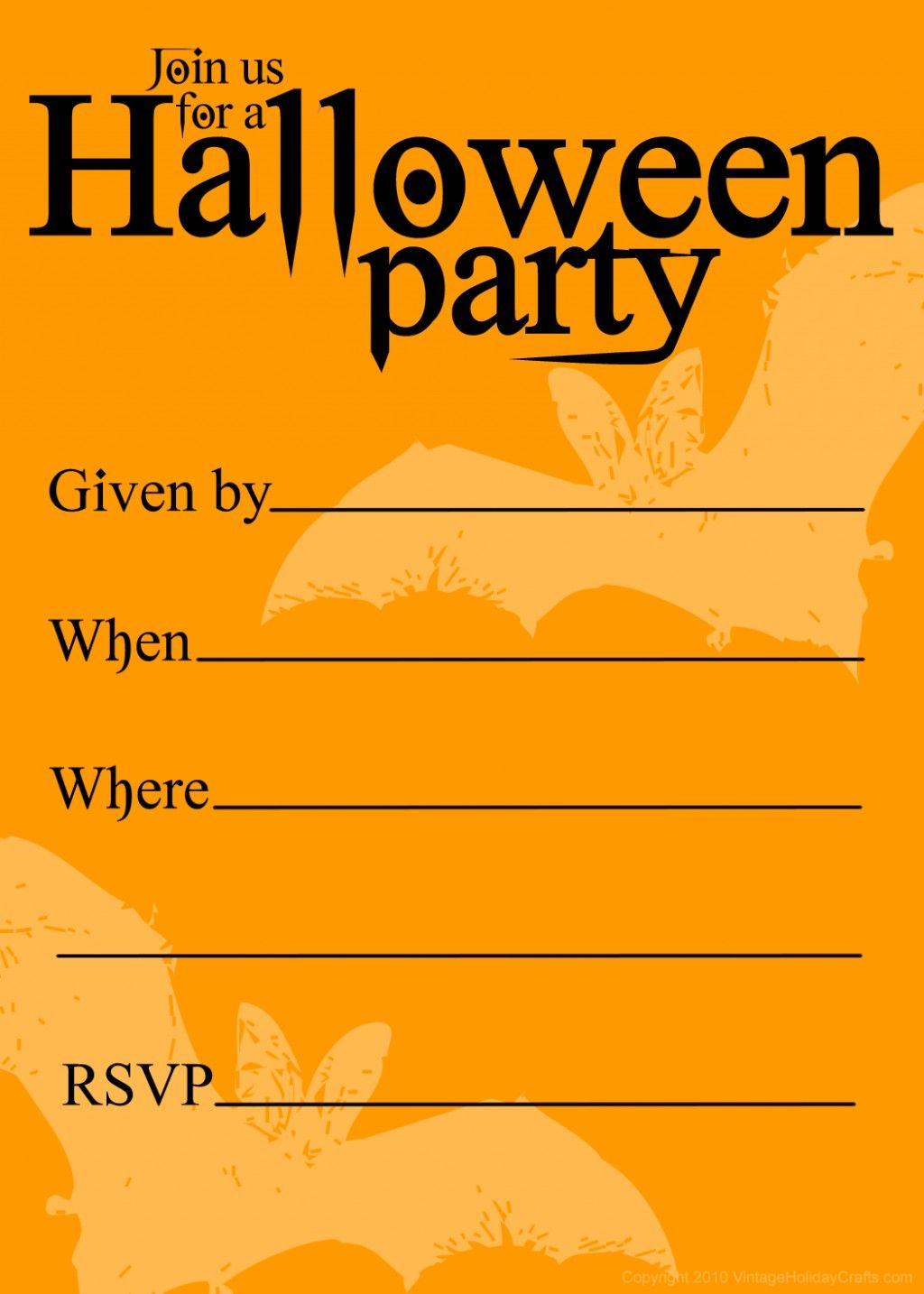 photograph relating to Free Printable Halloween Party Invitations named Daunting Halloween Celebration Invites Templates Invitation