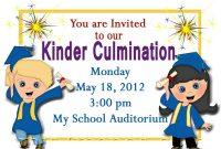 Free Printable Kindergarten Graduation Announcements Graduation pertaining to measurements 1200 X 857