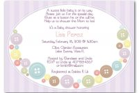 Image Detail For Button Ba Shower Invitations Are Great For Your pertaining to size 1125 X 825