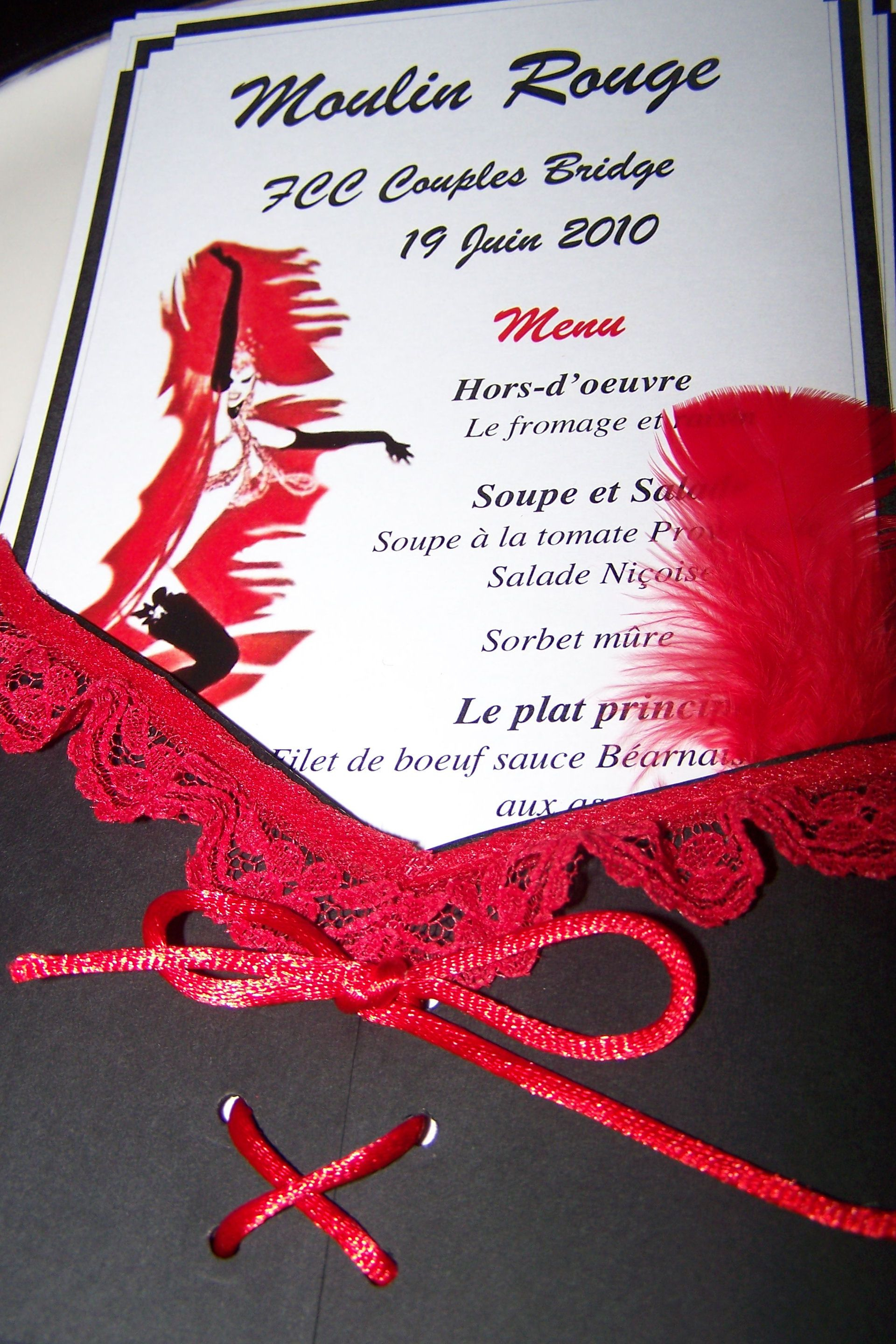 Moulin Rouge Invitation Templates Invitation Template Ideas