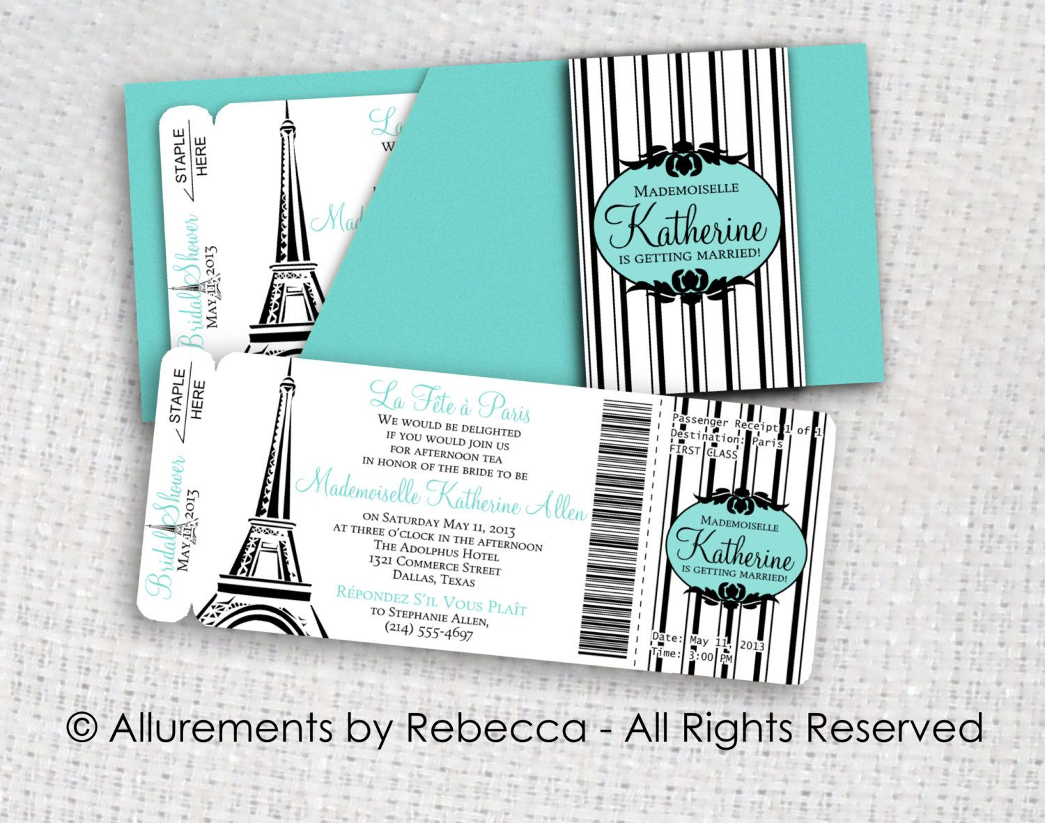 Paris Boarding Pass Invitation Template Invitation Template Ideas