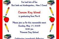 Preschool Graduation Invitation Template Yourbody Ua inside measurements 1072 X 1500