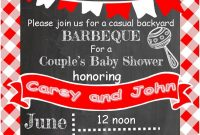 Tips For Choosing Bbq Ba Shower Invitations Templates More Http pertaining to proportions 750 X 1050