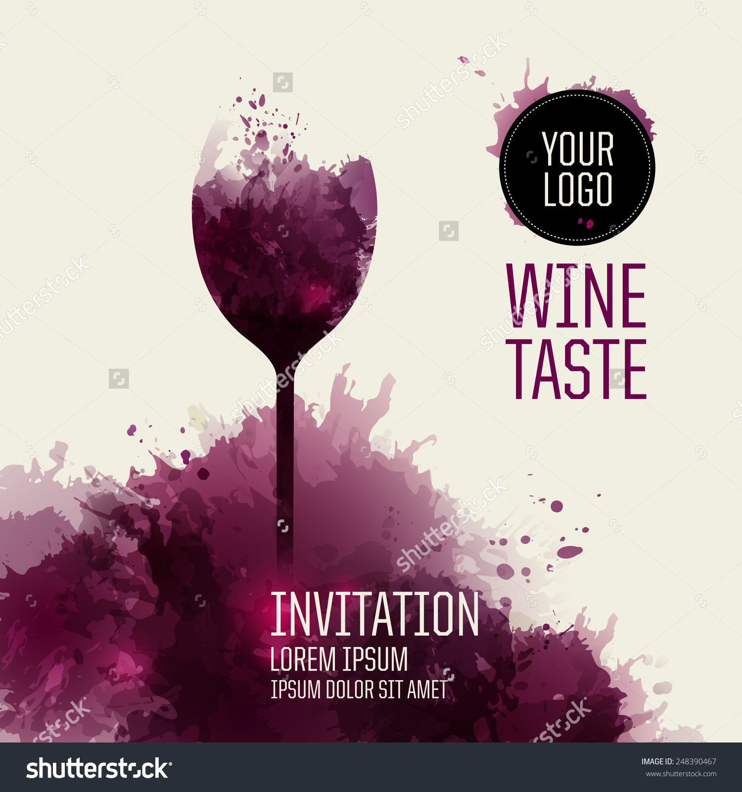 Wine Dinner Invitation Template Invitation Template Ideas