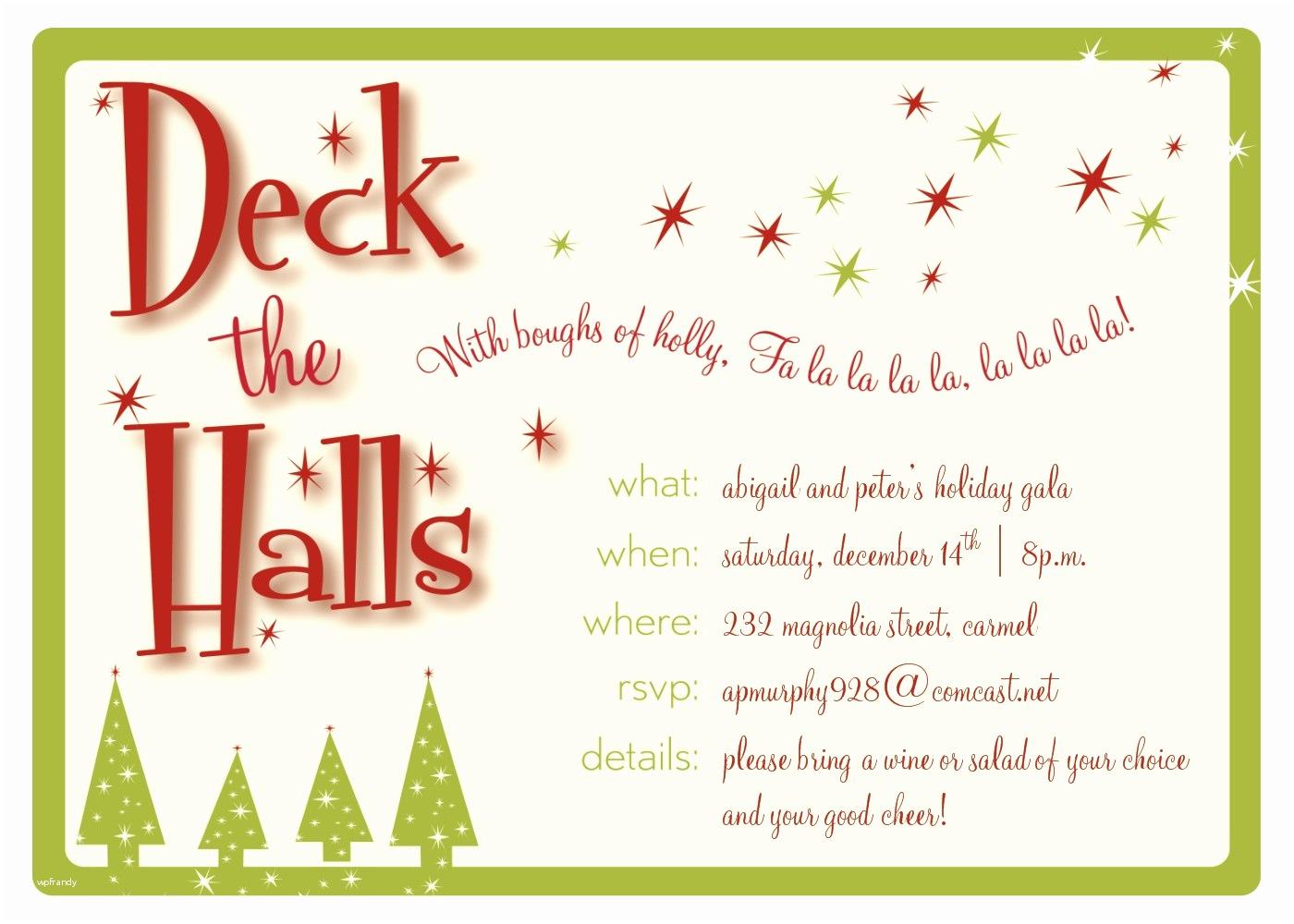 Christmas Party Invitation Template Ai O Ideas