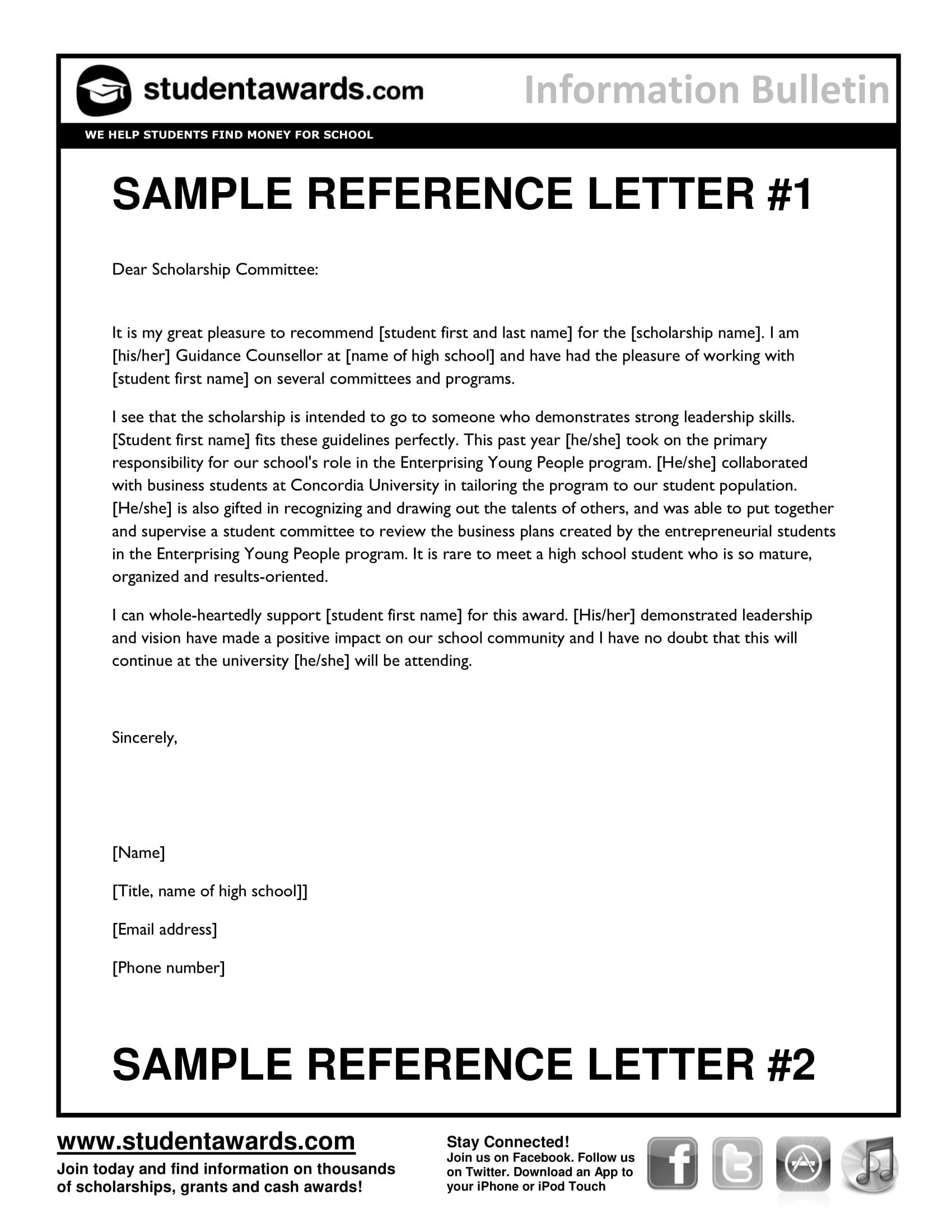 29 Reference Letter Examples Pdf Word Examples pertaining to size 1700 X 2200
