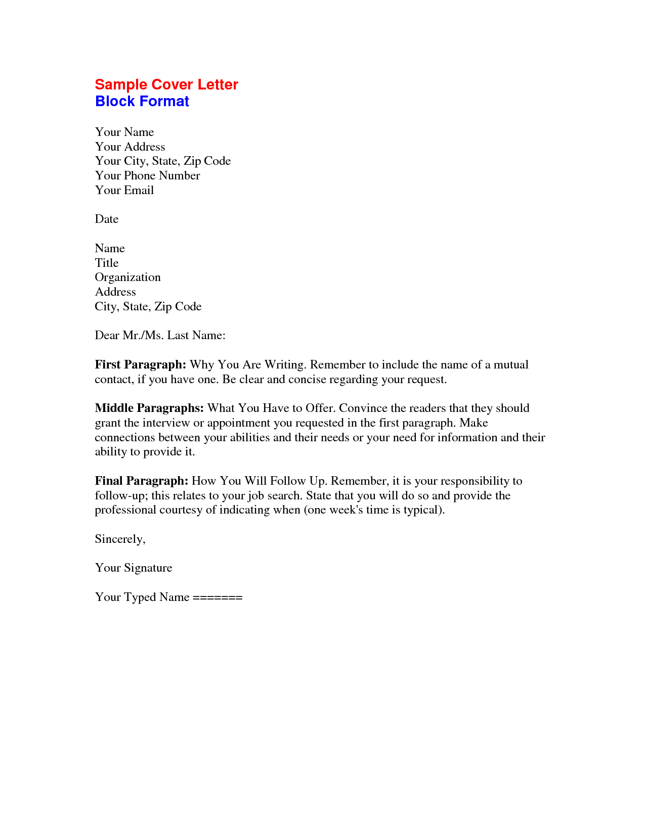 Sample Letter Of Recommendation To Unknown Recipient ...