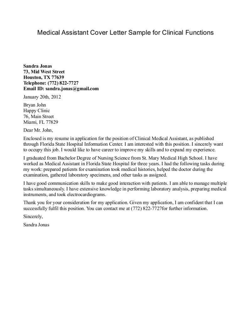 Assistant Recommendation Letter Letter Of Medical inside size 800 X 1036