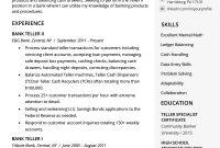 Bank Teller Resume Sample Writing Tips Resume Genius in dimensions 800 X 1132