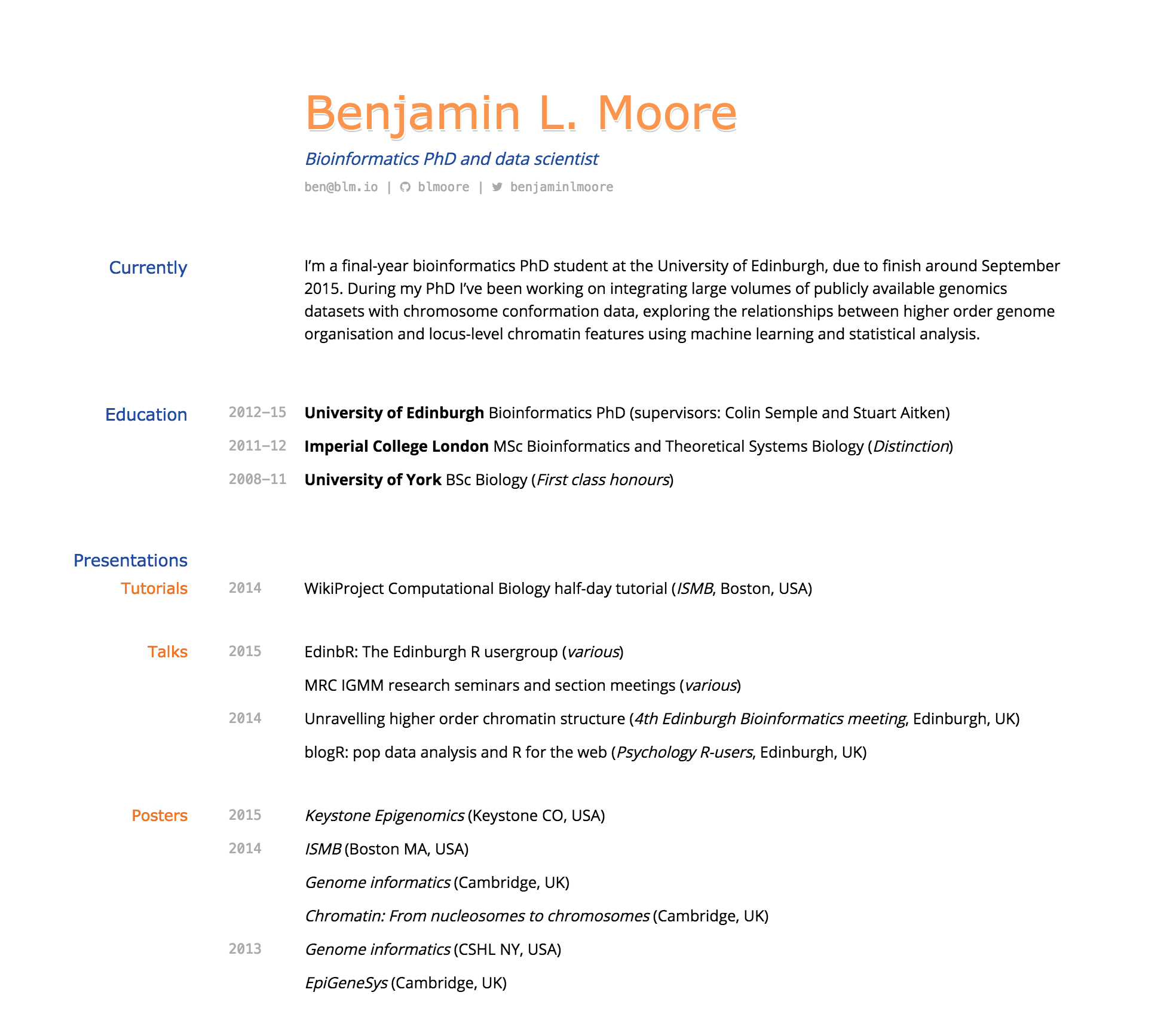 Building An Academic Cv In Markdown Blmio with regard to dimensions 1968 X 1712