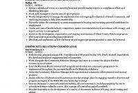 Community Relations Resume Samples Velvet Jobs with dimensions 860 X 1240