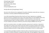 Electrician Cover Letter Sample Writing Tips Resume Genius pertaining to dimensions 800 X 1132
