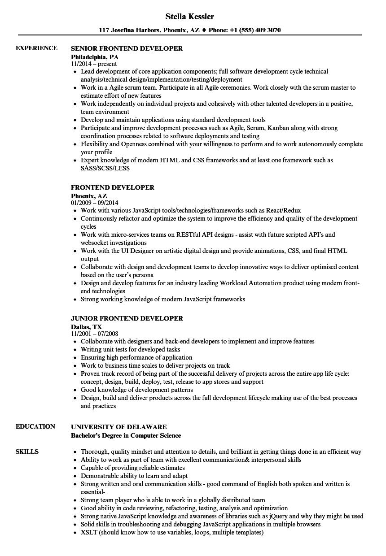 vue js resume template  u2022 invitation template ideas