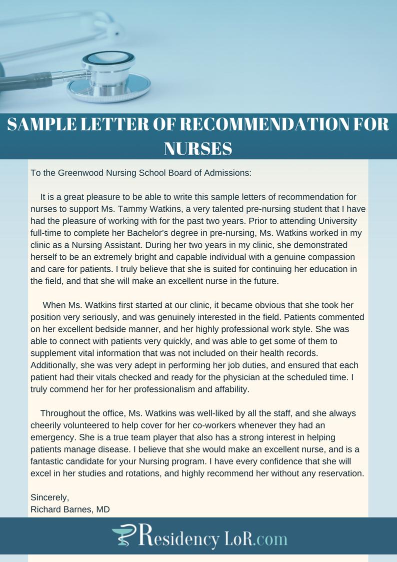 Mental Health Nurse Reference Letter • Invitation Template ...