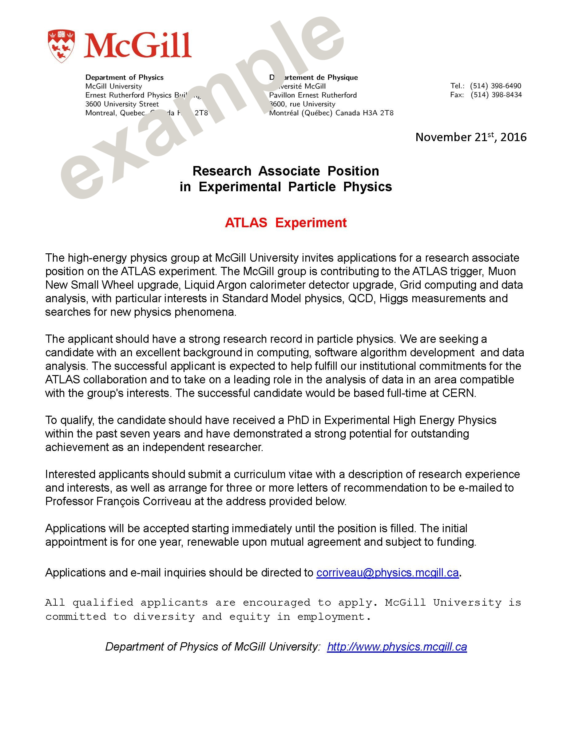 Mcgill admissions essay