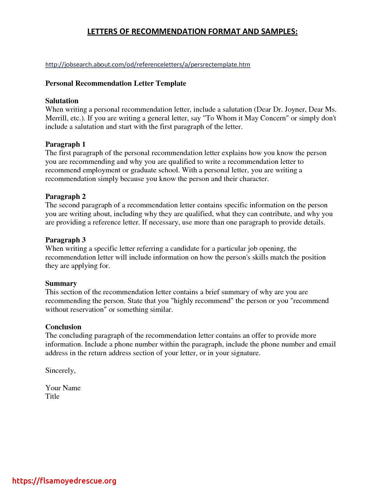 Letter Of Recommendation To Whom It May Concern Template from howtostepmom.com