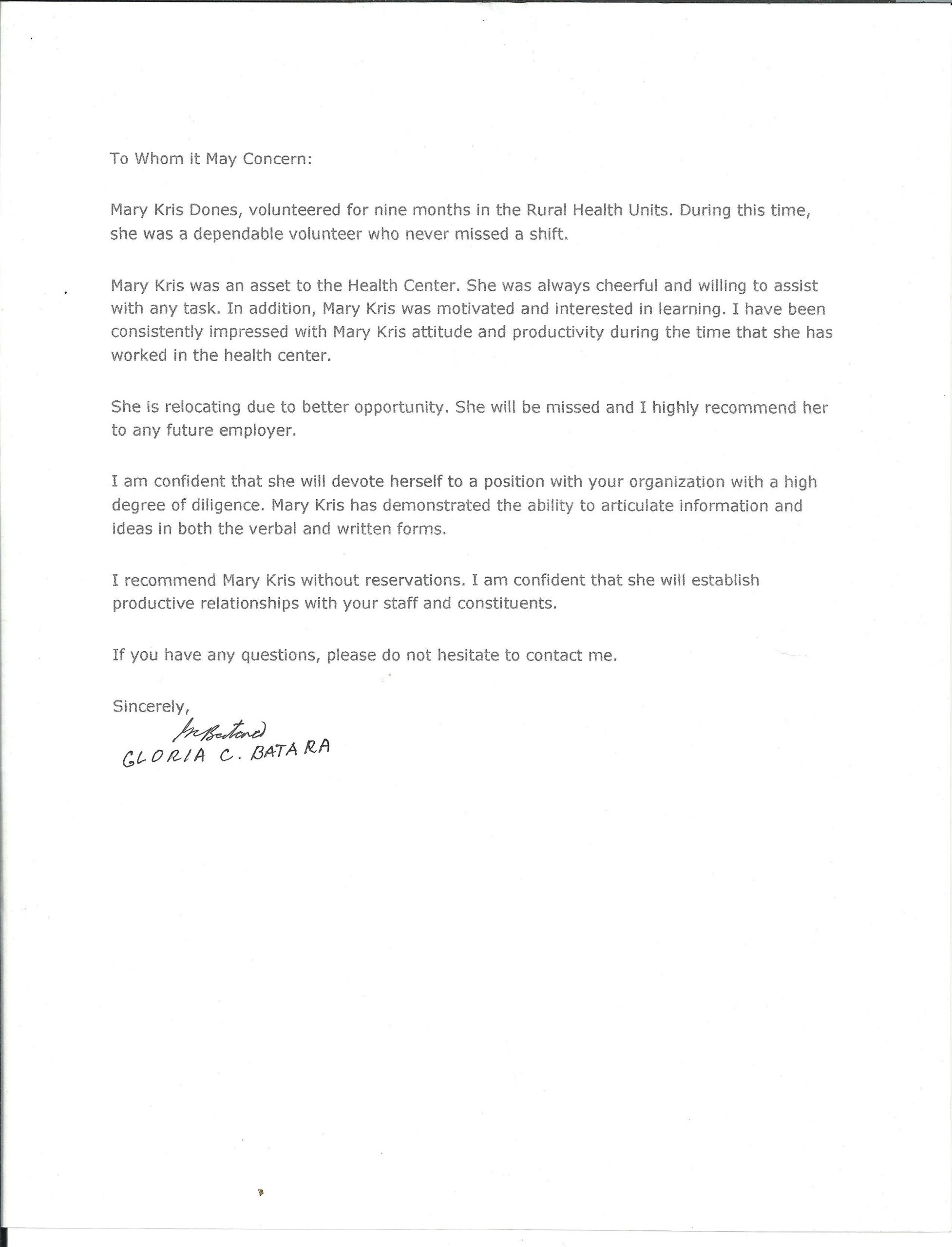 Nanny Recommendation Letter Cover Letter Exle Letter Of in proportions 2550 X 3341