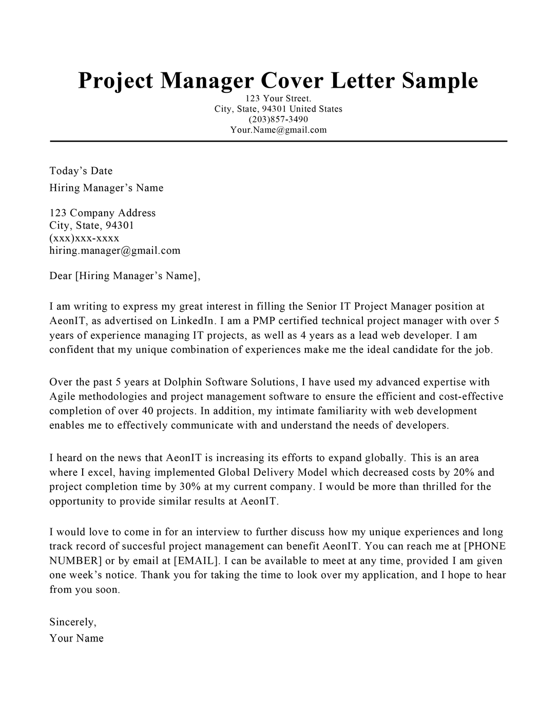 How to do a cover page for a research paper