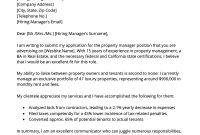 Property Manager Cover Letter Sample Download For Free Rg for proportions 800 X 1132