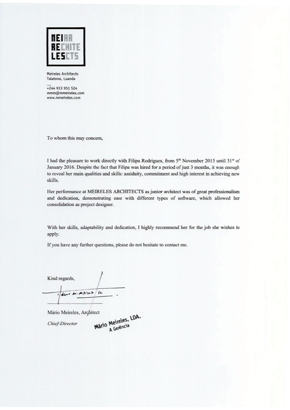 letter of recommendation to master degree in architecture  u2022 invitation template ideas