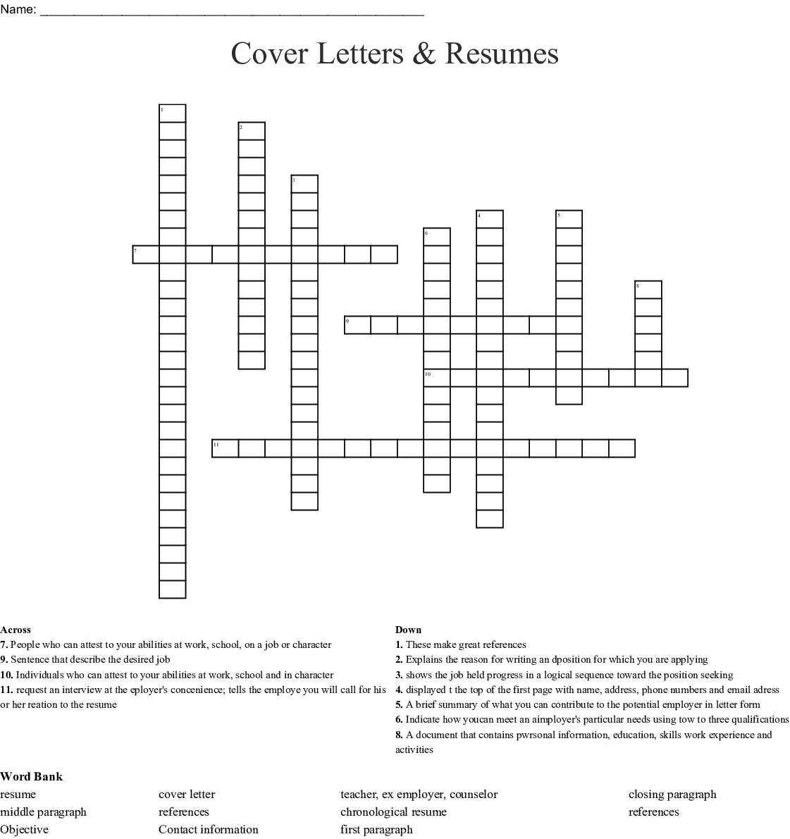 Resume Puzzle Word Search Wordmint throughout proportions 1121 X 1190