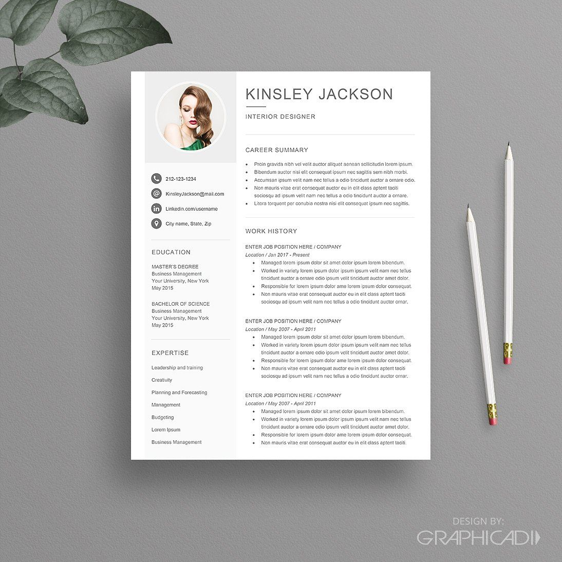 Resume Template For Word Facebooklinkediniconstwitter in size 1094 X 1094