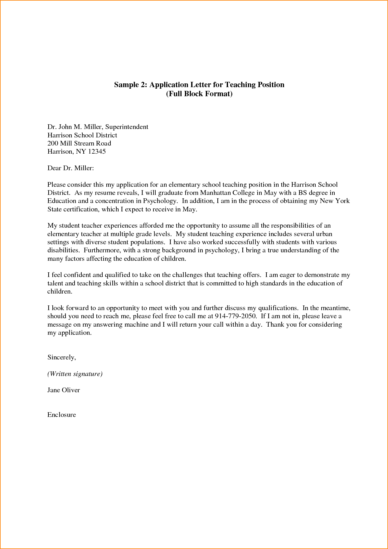 Sample Cover Letter For Teaching Jobs Akali pertaining to sizing 1244 X 1758