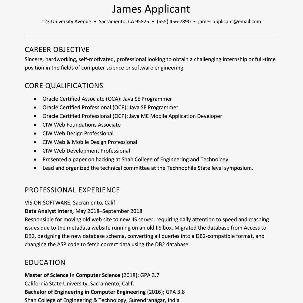 resume template for a new graduate  u2022 invitation template ideas