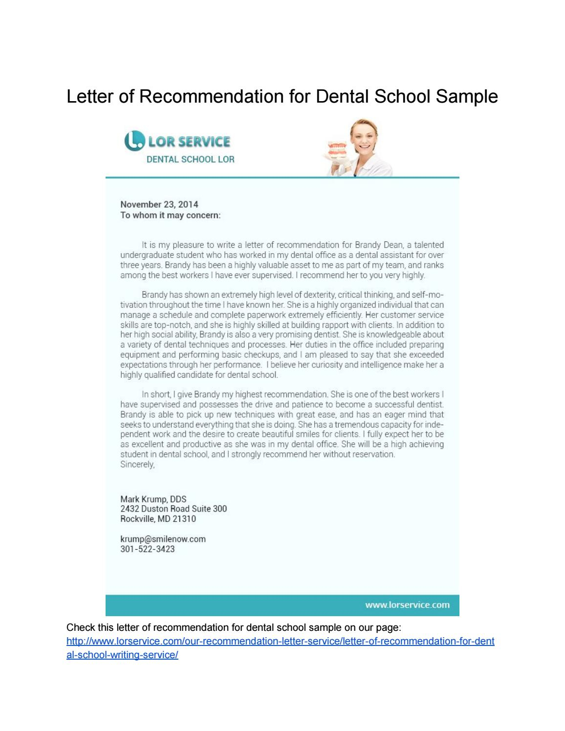 Samples Of Letter Of Recommendation Lorsamples Issuu for dimensions 1156 X 1496