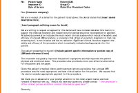 Template Ideas Insurance Denial Shocking Letter Claim Appeal intended for dimensions 1000 X 1289