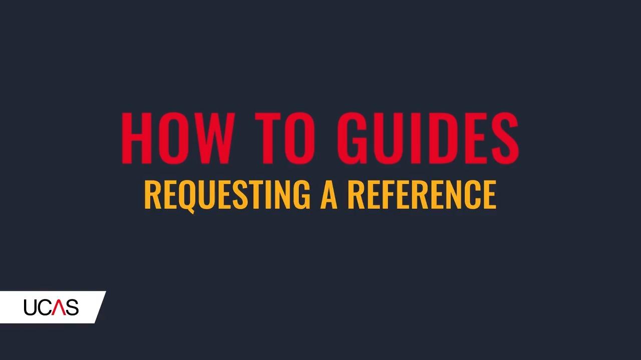 Ucas University Application References regarding sizing 1280 X 720